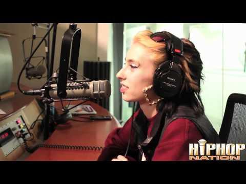 Drake Calls Kreayshawn On DJ Green Lantern's Invasion Radio W/ Boss Lady