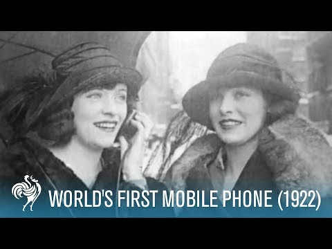 World-s First Mobile Phone (1922)