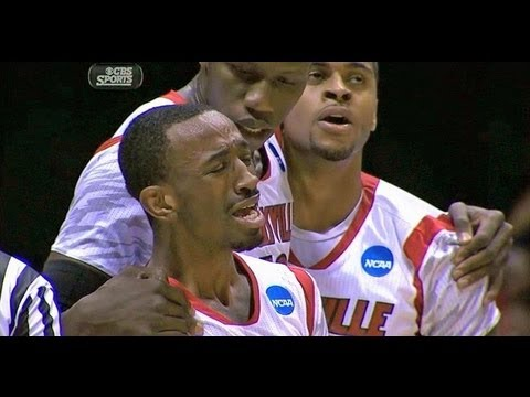 Kevin Ware Louisville Player Snaps His Leg In HALF!!!! (Duke Vs. Louisville)(Original) (HD)
