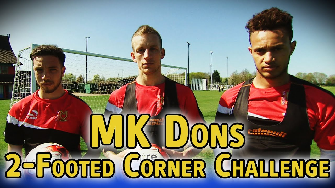 2-Footed Corner Challenge - MK Dons - The Fantasy Football Club