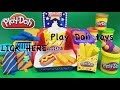 Фрагмент с конца видео Play Doh Poppin' Movie Snacks Popcorn Play Doh Movie Treats Popsicle Hot Dog Fries Ice Cream