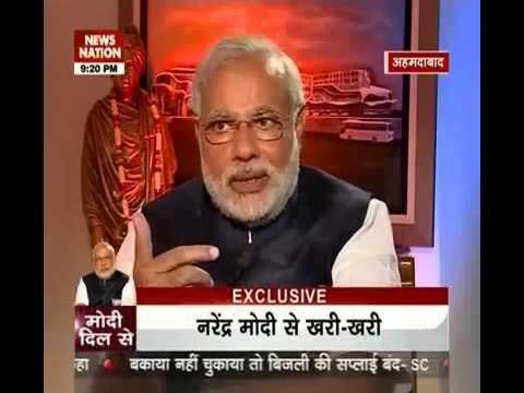 News Nation Exclusive: 60 minutes with Narendra Modi- part 2