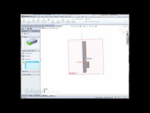 SolidWorks Simulation 2011- 2D Simulation