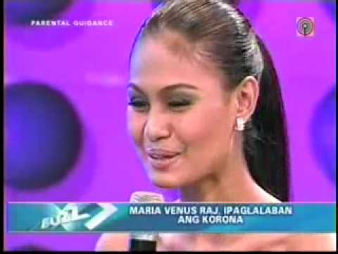 Maria Venus Raj at The Buzz