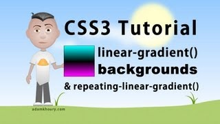 CSS3 linear-gradient background tutorial HTML5 Linear Gradient Parameters