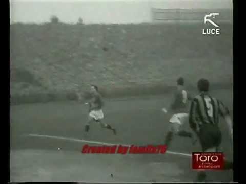 """Torino Calcio-Fc Internazionale 4-2 stagione 1948-49 """"La settimana Incom"""" Istituto Luce"""