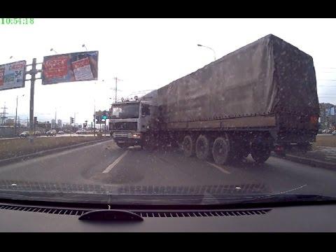 Аварии грузовиков Февраль 2016