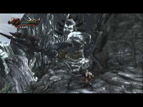 God of War 3 Walkthrough- Poseidon Boss Battle(Titan Mode)