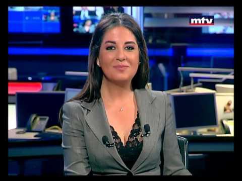 بالفيديو : شاهد مذيعة لبنانية في لقطة محرجة