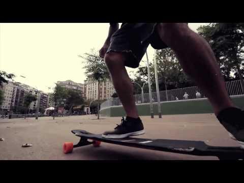 Barcelona Longboarding pt.1