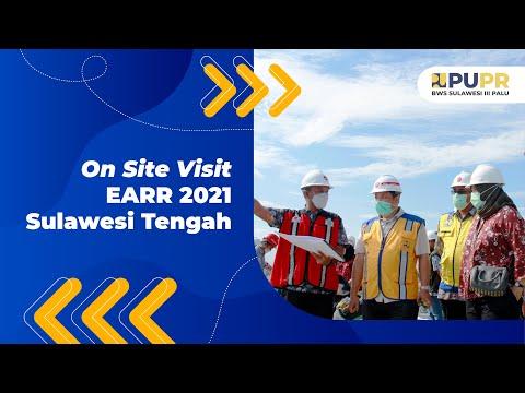 On Site Visit EARR Tahun 2021 di Palu, Sulawesi Tengah