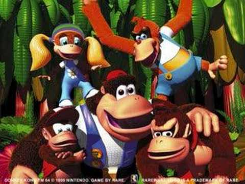 Donkey kong 64 Music- Crystal Caves