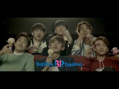 Baskin Robbins 'Ice Cream-Popcorn' CF