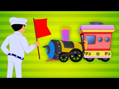 Pogudhu Paar - Train - Children Tamil Nursery Rhymes Chellame Chellam Volume  6