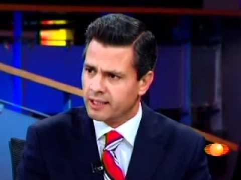 Peña Nieto en entrevista con Joaquín López Dóriga - Televisa