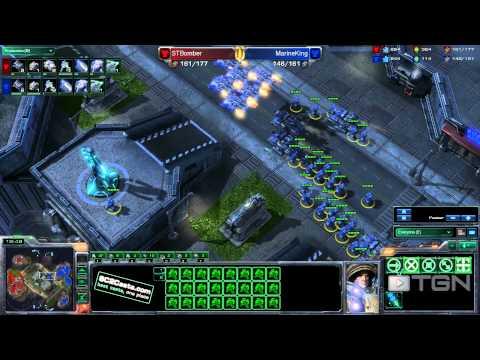 ★ StarCraft 2 - Bomber vs MarineKing (Game 1) - MLG Orlando - TGN