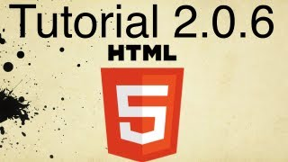 HTML5 Tutorial 2.0.6 | How to Create an Email Link