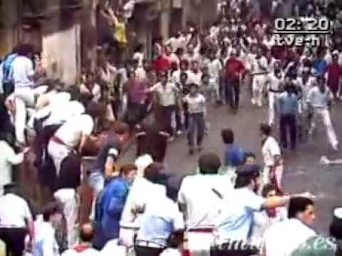 Encierro de San Fermín 10 de julio de 1984 360p