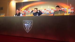 Press conference APOEL FC (Christiansen & Pardo) - against Athletic Bilbao