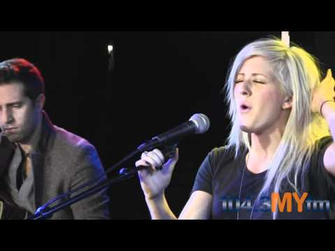 "Ellie Goulding- ""Lights"" LIVE on the MYStage"