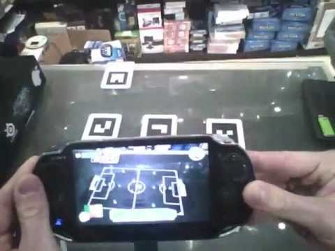 PS Vita Realtà Aumentata - Carte RA - Table Football