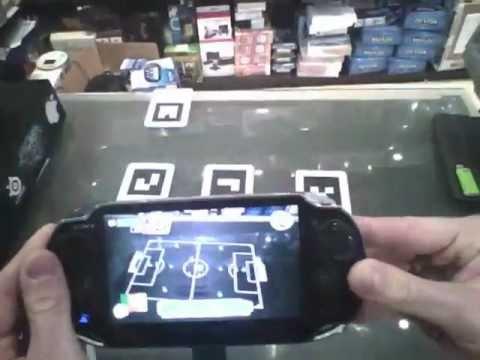 PS Vita Realtà Aumentata - Carte RA - Table Football