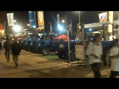 *EXPOFACI C   XXII  2012 *   Tractors at Super  Agricultural Fair@ Portugal/ aftermovie, at night ;)