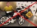 Велосипед на литых колесах military (реальность)