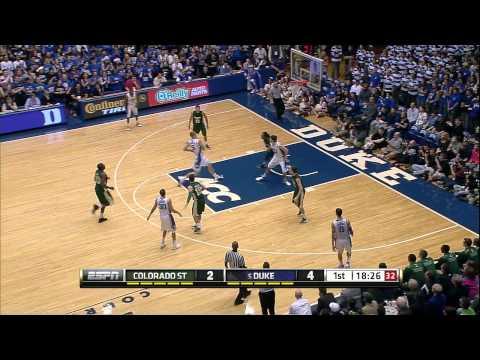 Top Plays - Duke 87, Colorado State 64