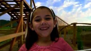 Little Girl in Roller Coaster