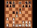 Фрагмент с начала видео Tal vs Botvinnik Game 1 WCC 1960