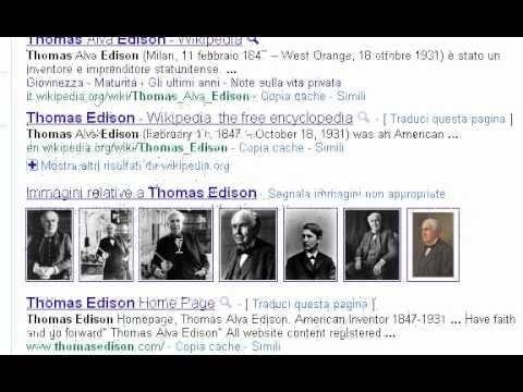 Buon compleanno Thomas Edison (ecco il doodle di Google)