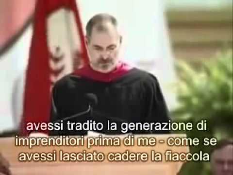 MOTIVAZIONE - Discorso di Steve Jobs ai neolaureati di Stanford sottotitoli in italiano