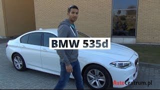 BMW 535d xDrive 313 KM, 2013 - test AutoCentrum.pl