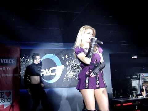 Andreea Banica Live at Spacer, Sofia (17.02.2011)