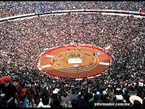 ¡...ASÍ SE OYE LA MONUMENTAL PLAZA MÉXICO...!
