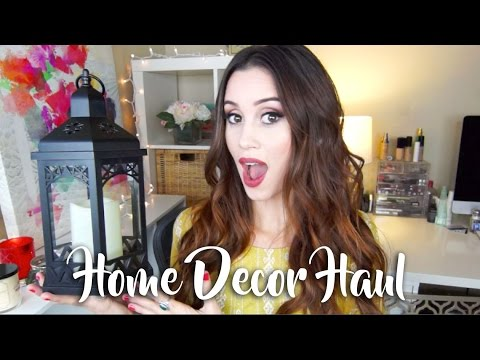 HOME DECOR HAUL! - UCwrr3IkHMeDIAj7zjq17qoA