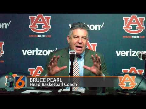 Bruce Pearl talks about Auburn's 76-66 win over Kentucky Wildcats.