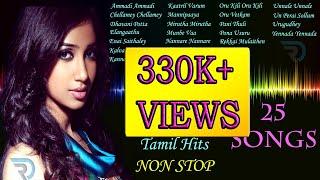 Shreya Ghoshal  Jukebox  Melody Songs  Tamil Hits  Tamil Songs  Non Stop