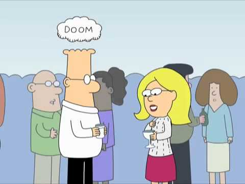 Dilbert Animated Cartoons - Average Woman, Cloud of Doom and Accomplishments