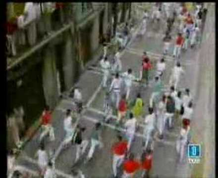 San Fermin 14-07-06 - Encierro Runrig