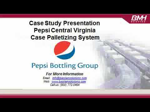 Pepsi of Central Virginia Material Handling Case Study