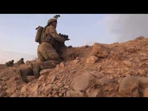 RAW FOOTAGE Intense Battle of Doan in AFG; Aussies under Taliban  heavy attack