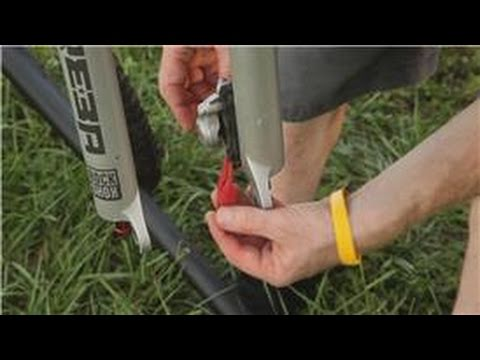 Mountain Biking : Bleed Brakes on Mountain Bikes with Avid System