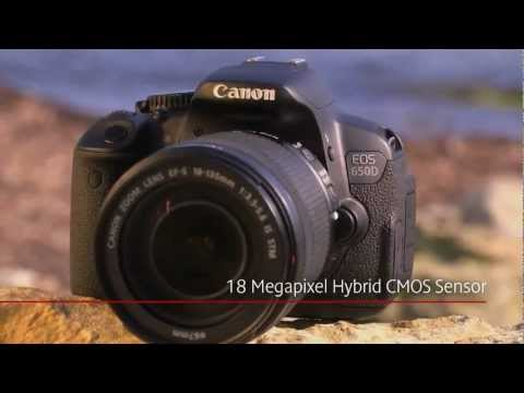 Canon EOS 650D  Rebel T4i  Official Preview