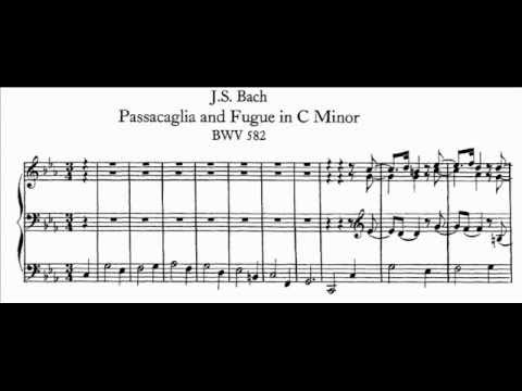 JS Bach - BWV 582 - Passacaglia c-moll / C minor