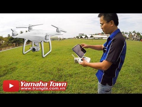 DJI Phantom 4 Flycam ▶ Hướng dẫn Bay trong 10 phút!