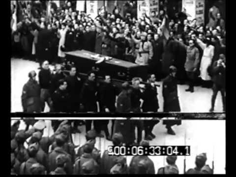 Ravenna. I funerali della Medaglia d'Oro Ettore Muti