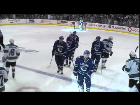 Henrik Sedin 3-2 Goal - Canucks Vs Sharks - R3G1 2011 Playoffs - 05.15.11 - HD