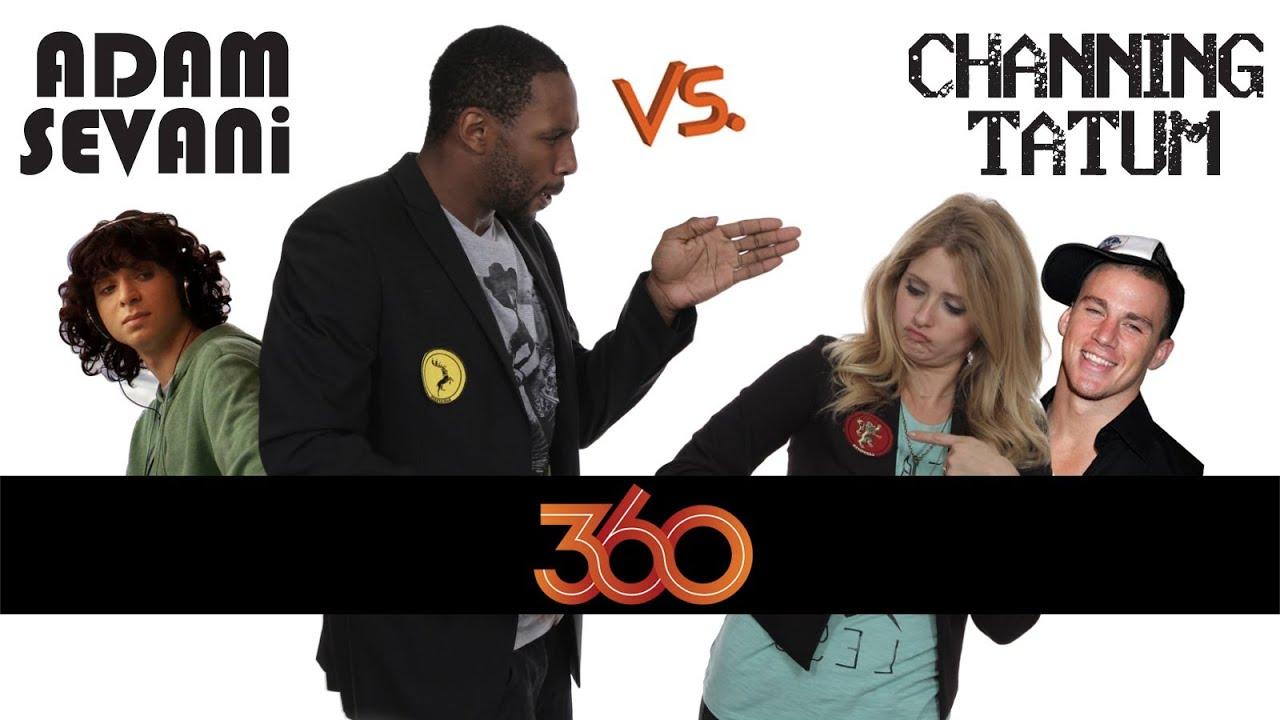 Adam Sevani vs. Channing Tatum - The DS2DIO 360 Great Debate!